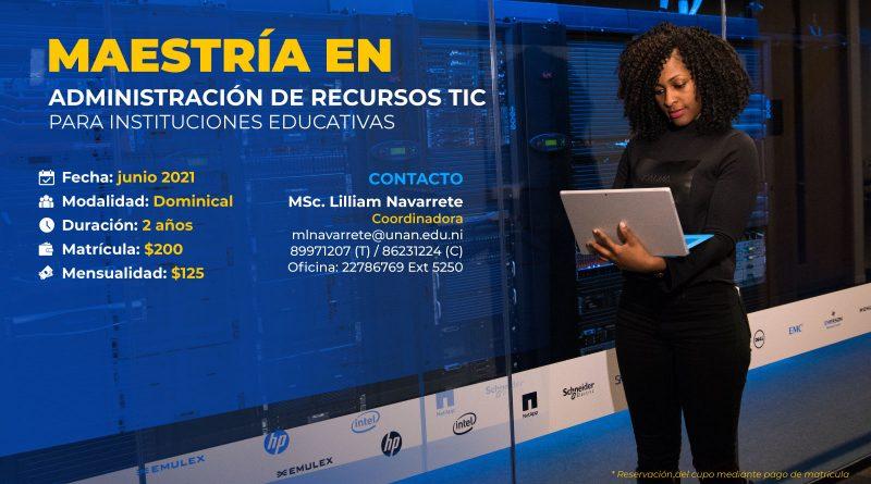 Maestría en Administración de Recursos TIC